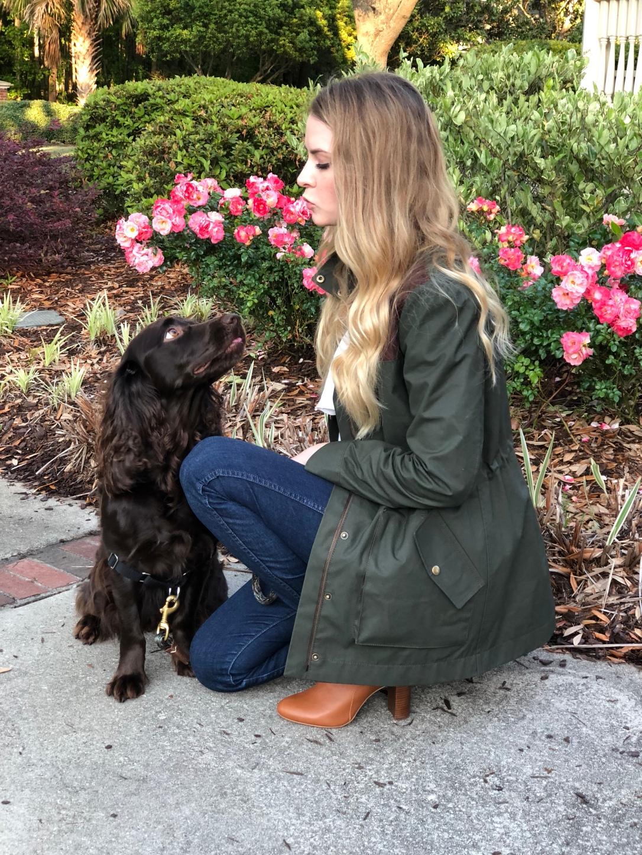 Kelly Anorak closet case patterns waxed jacket